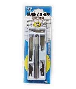 C-6022 筆刀   雕刻刀 (5款刀片組合)