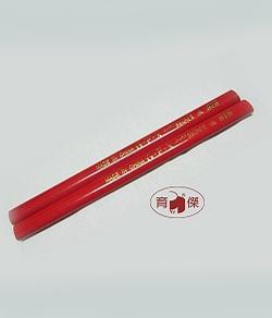 G.F.X.No.818 木工鉛筆 | 扁芯繪圖鉛筆 (12支入)