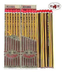 中華牌 No.6181 HB鉛筆 / 書寫鉛筆 (1打入)