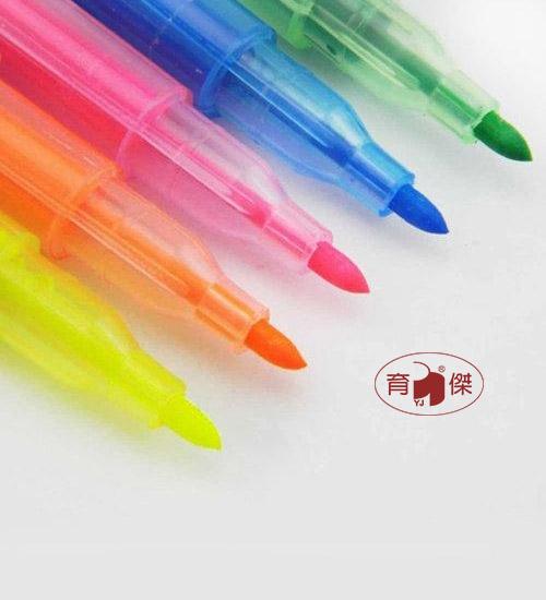 歐奇OR-510-5  雙頭螢光筆 (使用SGS標準環保油墨)