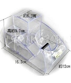 YY-685多功能筆筒 | 整理盒-透明色
