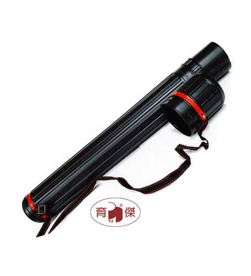 伸縮圖筒-中型 直徑約8cm 畫筒 | 製圖筒 (背帶式)