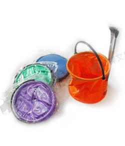 YJ 水彩繪畫用具-洗筆筒 | 洗筆袋 (附收納袋)