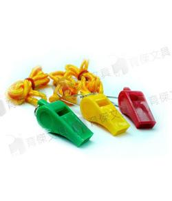 YJ 彩虹安全口哨(塑膠) 附繩或附夾( 任選一款)